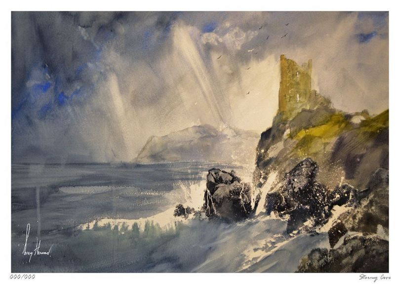Limited Edition Print Stormy Cove