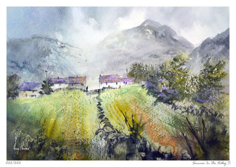 Limited Edition Print Summer In The Valley II