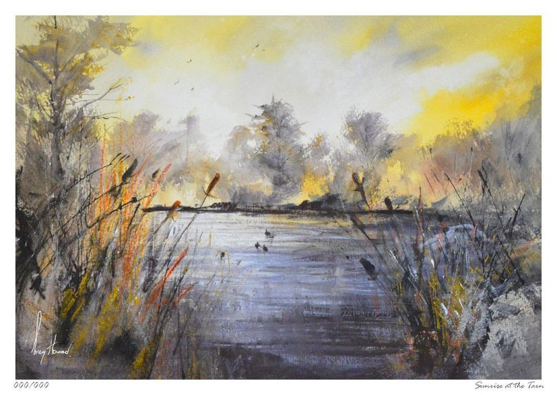 Limited Edition Print Sunrise At The Tarn