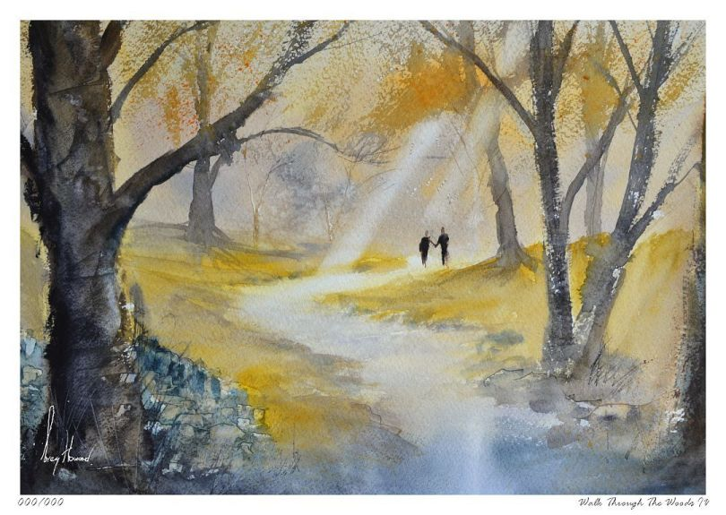 Limited Edition Print Walk Through The Woods IV