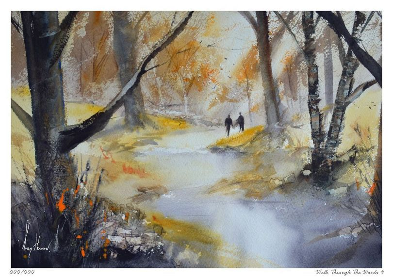 Limited Edition Print Walk Through The Woods V