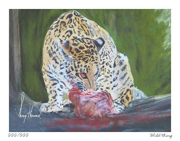 Limited Edition Print Wild Thing
