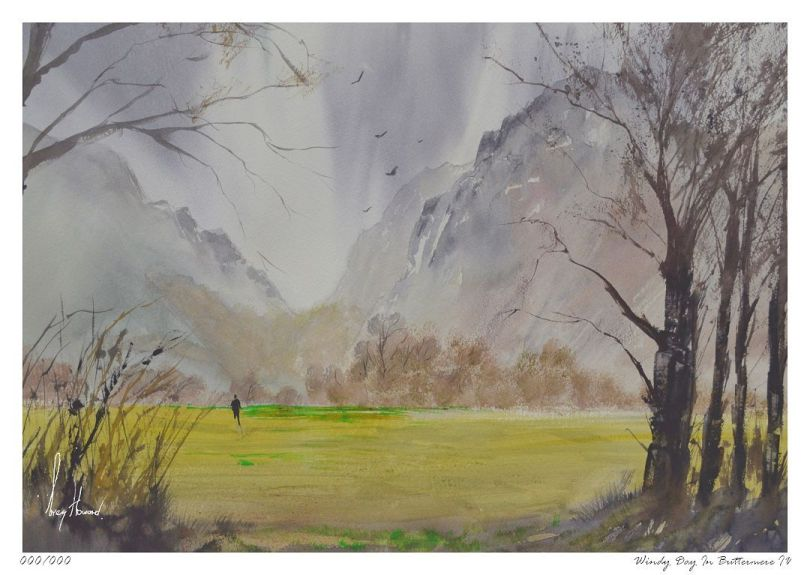 Limited Edition Print Windy Day In Buttermere IV