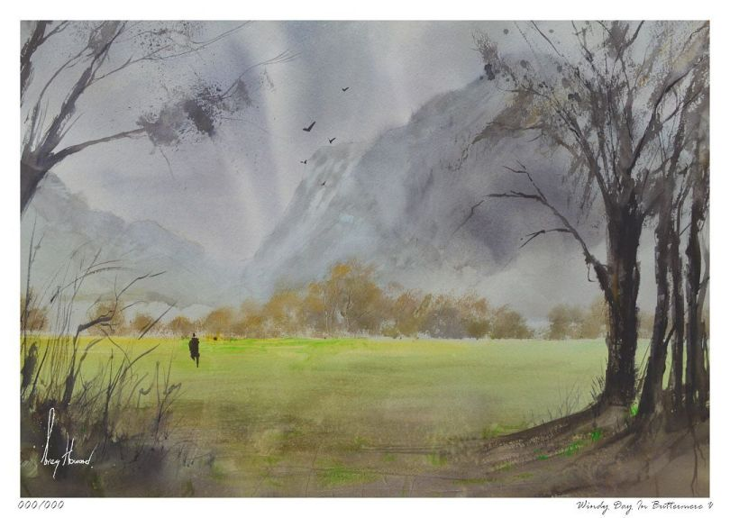 Limited Edition Print Windy Day In Buttermere V