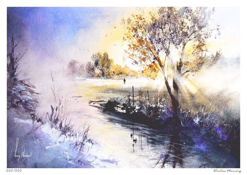Limited Edition Print Winters Morning