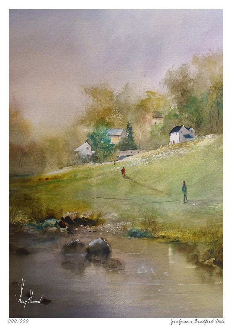Limited Edition Print Youlgreave Bradford Dale