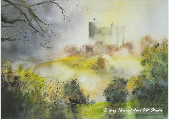 Misty Morning Bolsover Castle