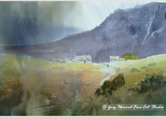 Rainy Day On The Moors