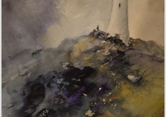Storm Over The Pepperpot I