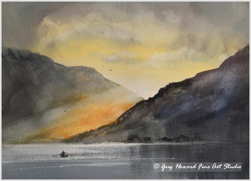 Sundown On The Loch