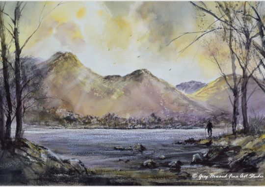 Sunset Over Catbells