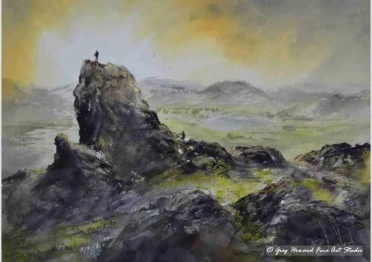 Sunset Over Helm Crag