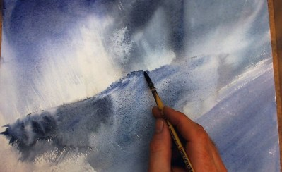 Tuition Learn To Paint Stormy Skies In Watercolour