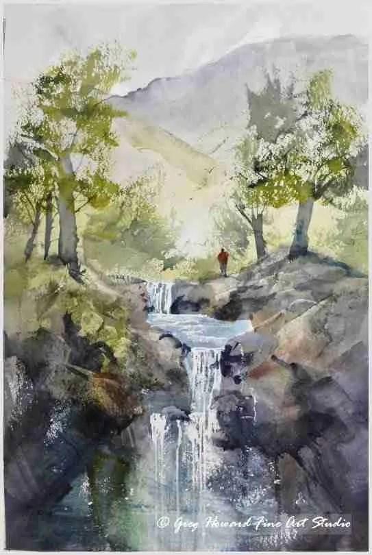 Up At The Falls I