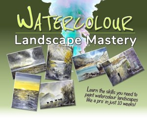 WATERCOLOUR LANDSCAPE MASTERY 10 Weeks 400PX