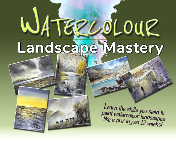 WATERCOLOUR LANDSCAPE MASTERY 10 Weeks (700 X 571)