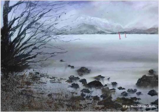 Winter On Ullswater II