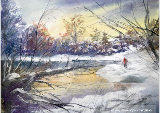 Winter At The Tarn II