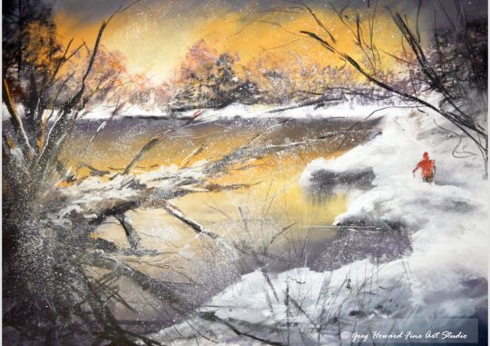 Winter At The Tarn III
