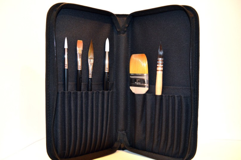 Watercolour Brush Set With Case 1300x864
