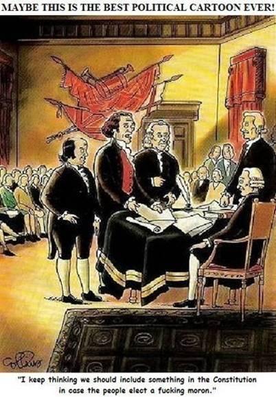 Constitution Convention & moron provision