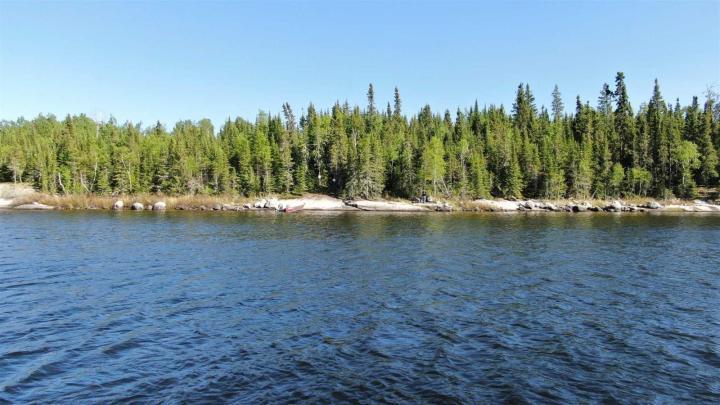 Location S819 Gun Lake, minaki, Ontario