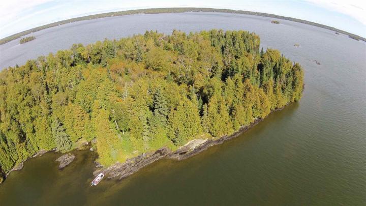 Partridge Point Eagle Lake, machin, Ontario