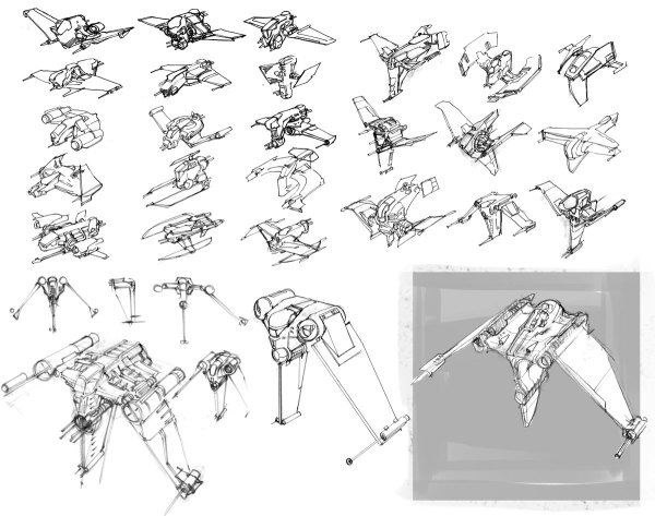 1000 images about Star Wars Ship Sketches on Pinterest