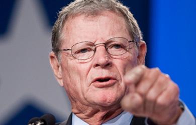 Climate Change Hoax Guru Jim Inhofe