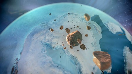 The latest newly discovered meteor impact that did not cause the Younger Dryas