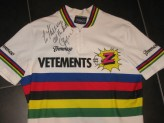 1990 World Champion signed Z jersey
