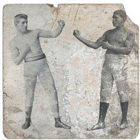 James J. Corbett vs Peter Jackson, 1891. Public Domain