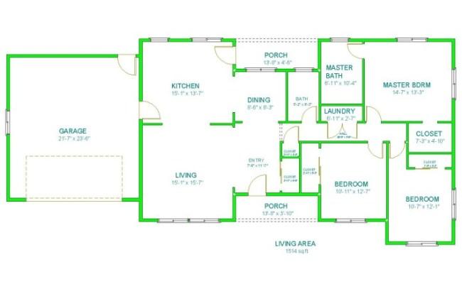 Home Design 2d Modern House