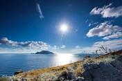 La punta Campanella et Capri