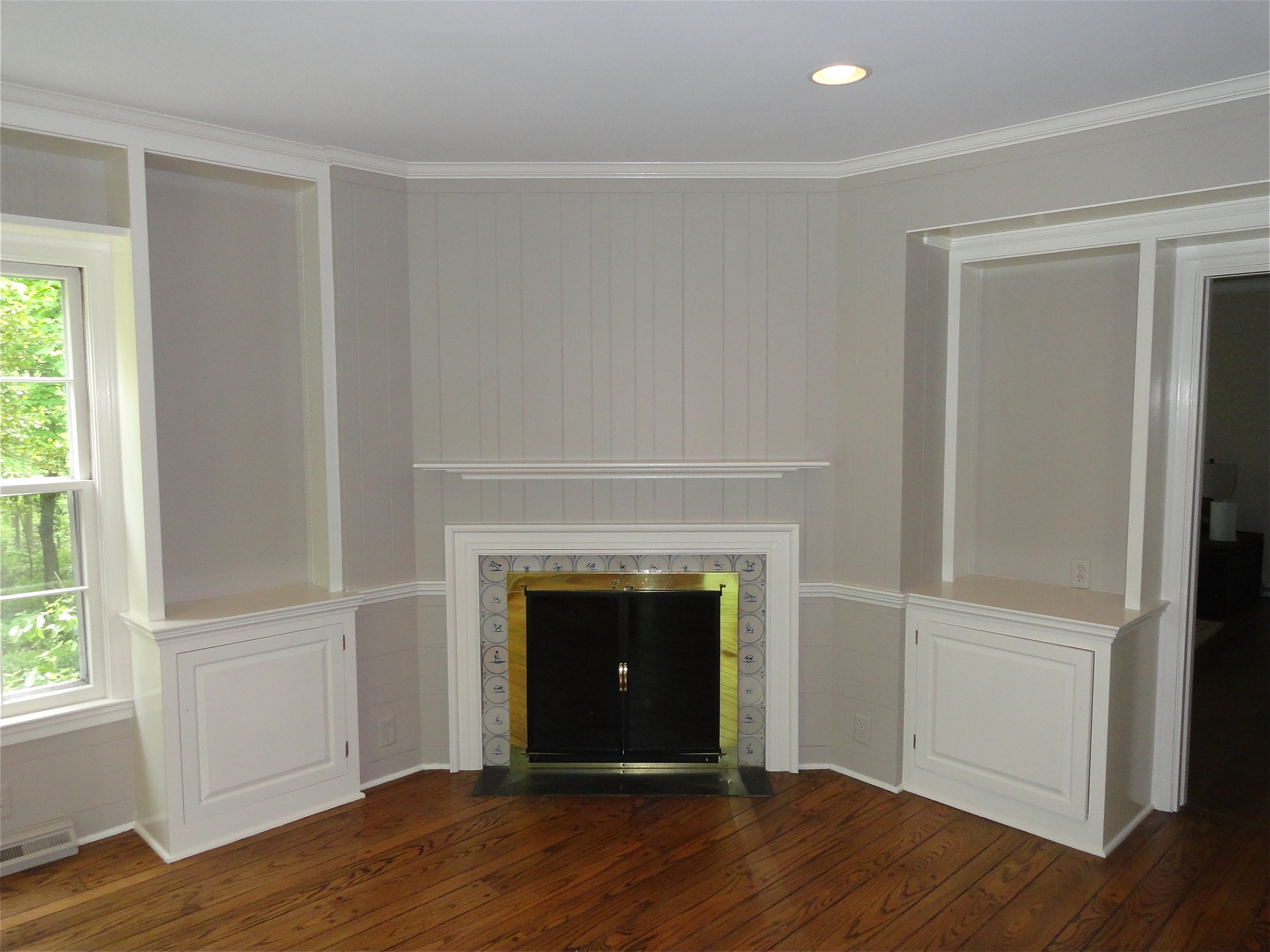 Panelling Is Easy To Paint Over