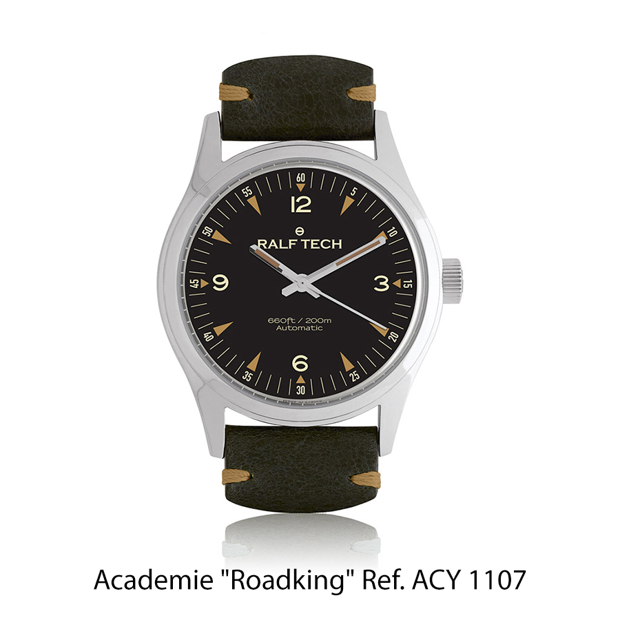 BNIB RALF TECH Académie Automatic «Roadking» Ref. ACY 1107 Watch – Cal. RTA 003