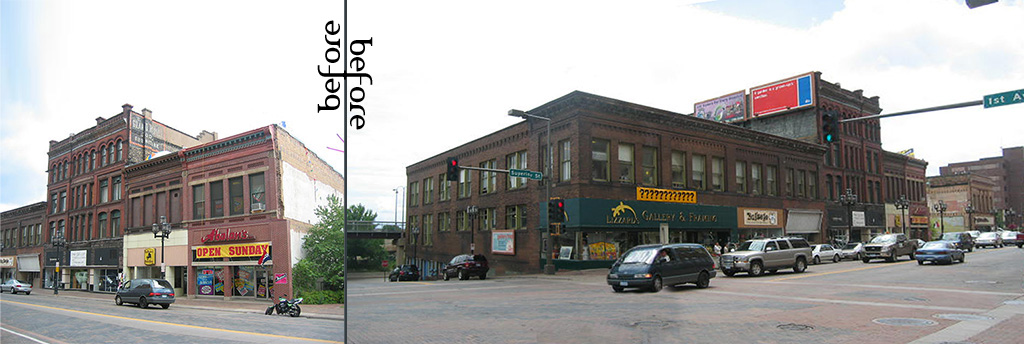 Duluth before