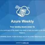 Azure Weekly