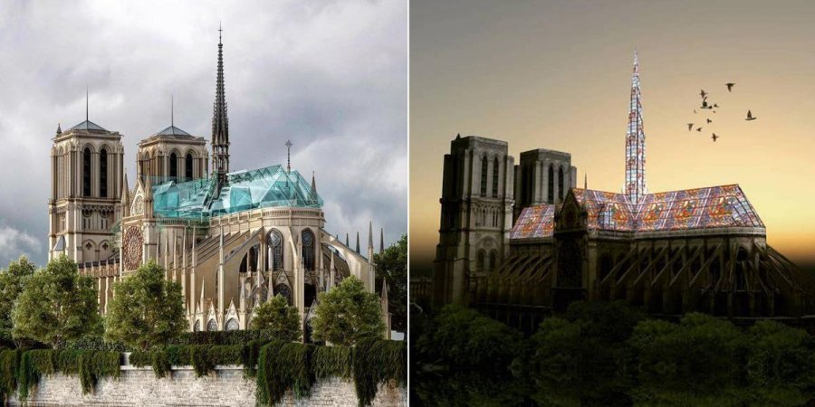 notre-dame-reconstruction-renovation-fleche-moderne-modernite-constervatisme-restauration
