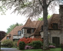 French Normandy Tudor Style Home