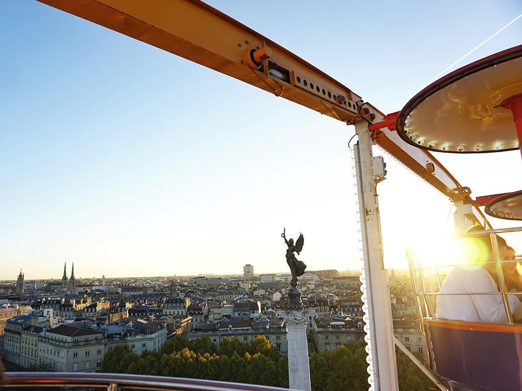 Bordeaux vu de la grande roue