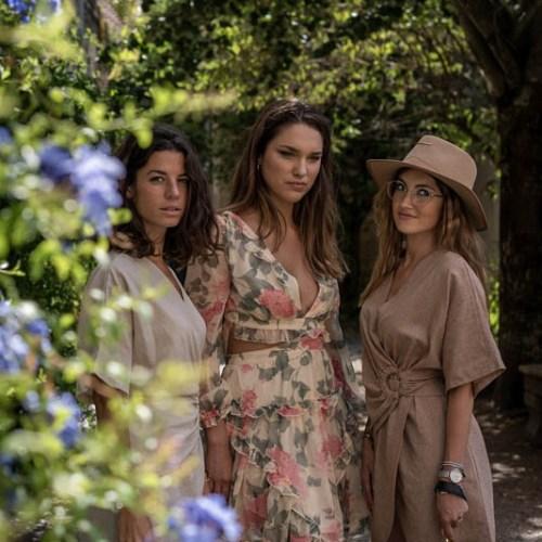 Portrait trio Bordeaux France