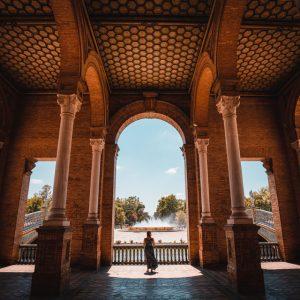Intérieur  du palais Séville