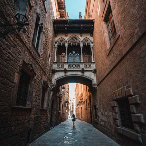 Passage à Barcelone