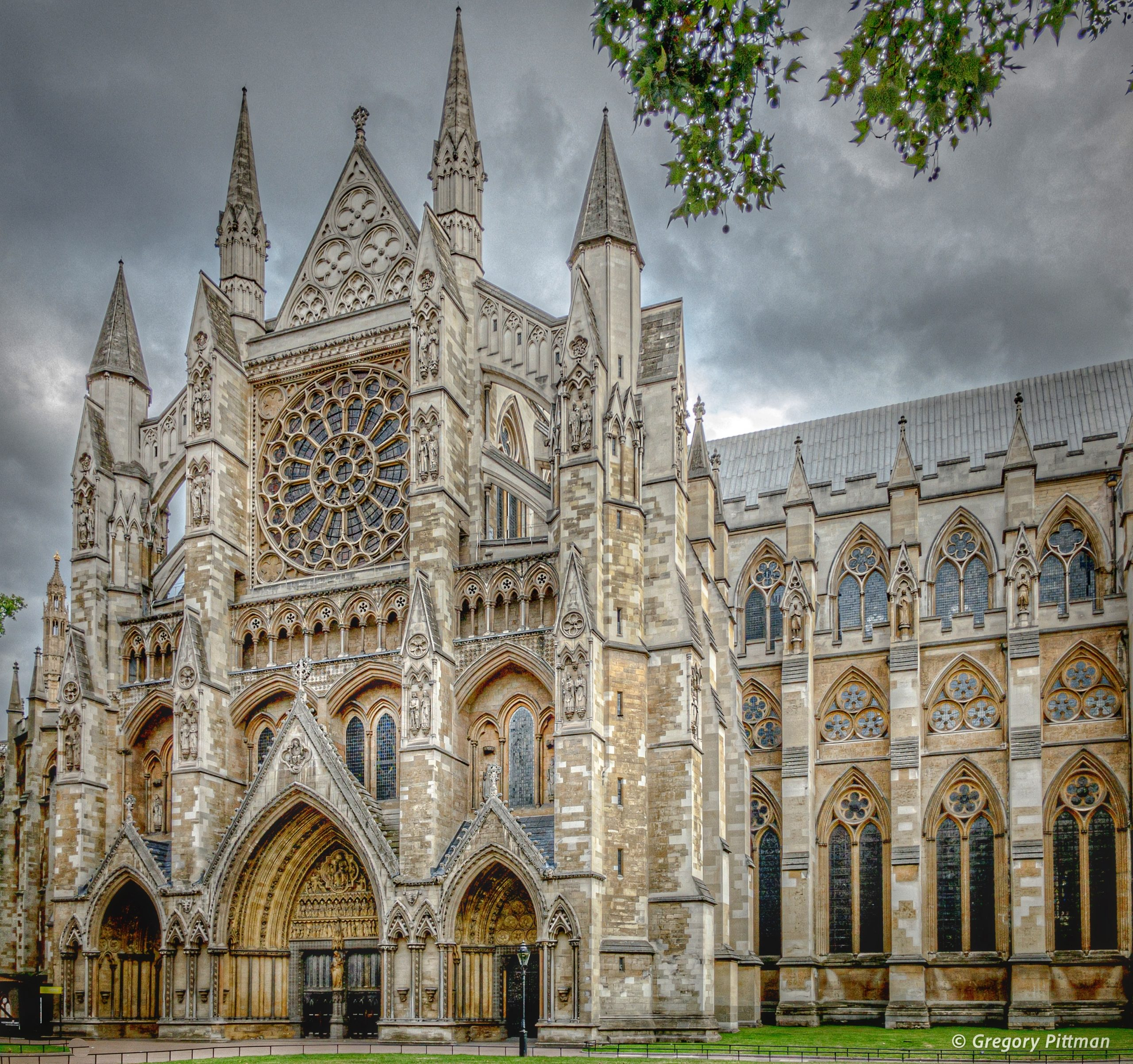 The north transept at Westminster Cathedral, London, England