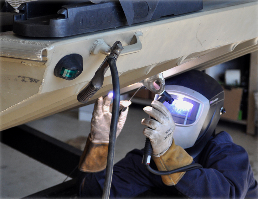 Boat Repair Welding – Gregory's Marine & RV, LLC