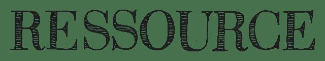Logo peinture RESSOURCE