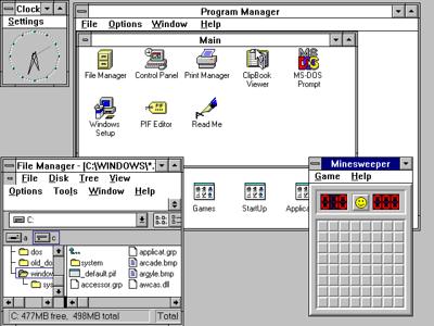 Windows 3.1 Desktop
