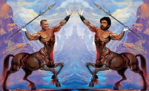 Alex Rodriguez vs @gregpak in the Centaur Civil War on Twitpic