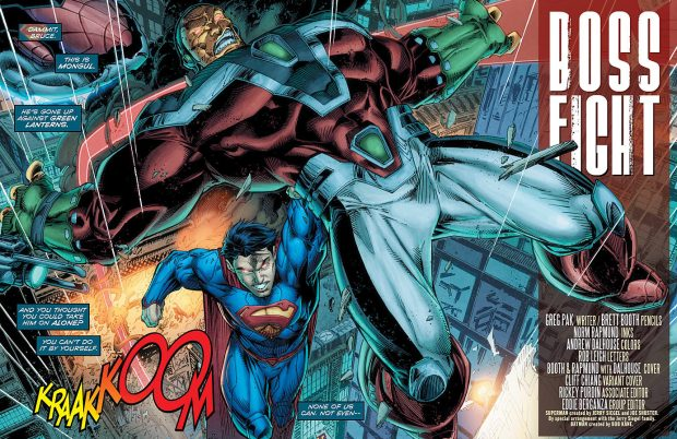 THE NEW 52-2014 BATMAN//SUPERMAN #9 JAE LEE ART /& COVER GREG PAK SCRIPTS